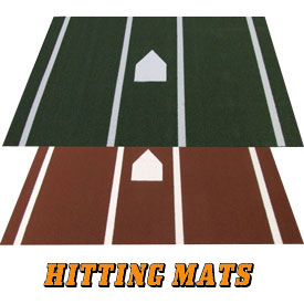 Baseball and Softball Hitting Mats