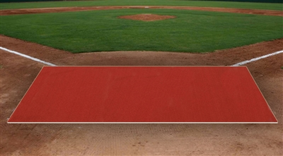 6 Feet X 12 Feet Clay Pro Ball Mat Without Homeplate